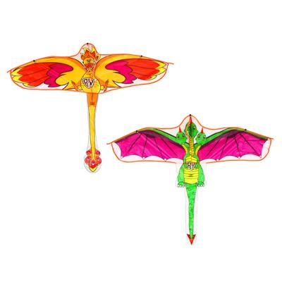 BY Воздушный змей 160см, текстиль, 2 дизайна - фото товара