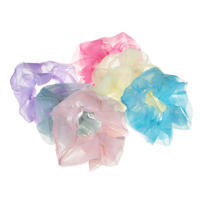 Фото товара BERIOTTI Резинка для волос, полиэстер, d5см, 4-6 цветов, 16.11-1