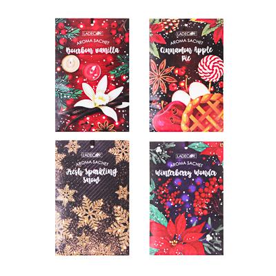 LADECOR Аромасаше, праздничные ароматы, 20гр, 4 аромата - фото товара