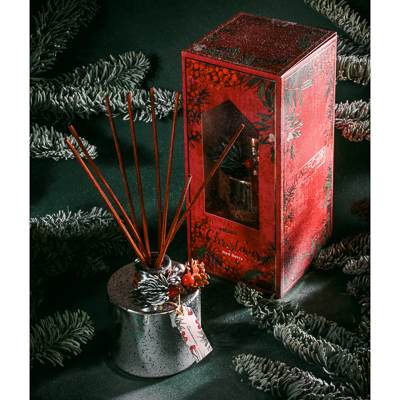 LADECOR Аромадиффузор с палочками и декором, 120мл, 2 аромата - фото товара