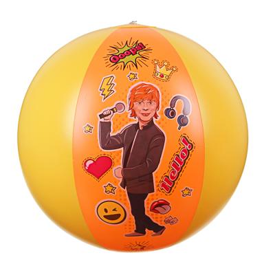 SILAPRO Счастливчик Мяч надувной, 48см, ПВХ, 0,18мм - фото товара