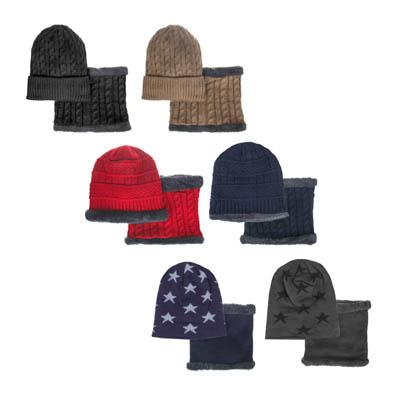GALANTE Комплект детский шапка р 52-54, хомут 20х18 см, 3 вида, ОЗ21-54 - фото товара