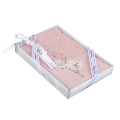 PROVANCE Мятный Латте Полотенце махровое с вышивкой, 100% хлопок, 50х80см, 350гр/м, 3 цвета - фото товара
