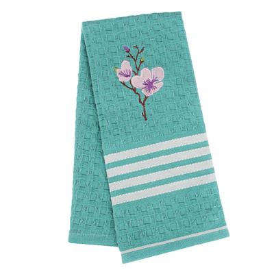 PROVANCE Мятный Латте Полотенце вафельное с вышивкой, 100% хлопок, 40х60см, 3 дизайна - фото товара