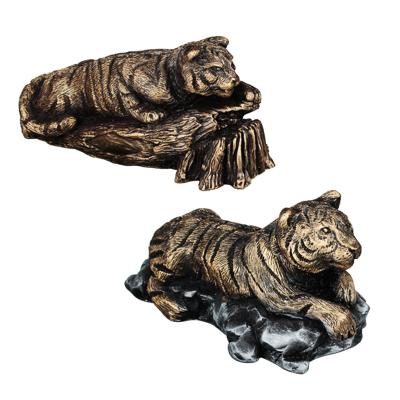 СНОУ БУМ Фигурка в виде тигра, гипс, 18х10см, 2 дизайна - фото товара