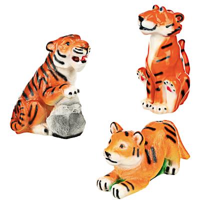 СНОУ БУМ Копилка в виде тигра, гипс, 16-29см, 3 дизайна - фото товара