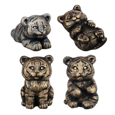 СНОУ БУМ Фигурка в виде тигра, 16см, гипс, 4 дизайна - фото товара