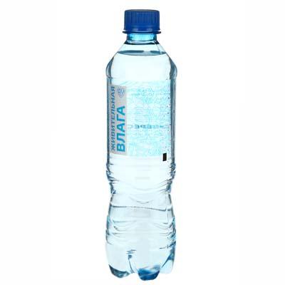Вода питьевая негазированная 0,5 л - фото товара