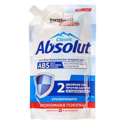 Мыло жидкое Absolut ABS ультразащита / алоэ, 440 г - фото товара