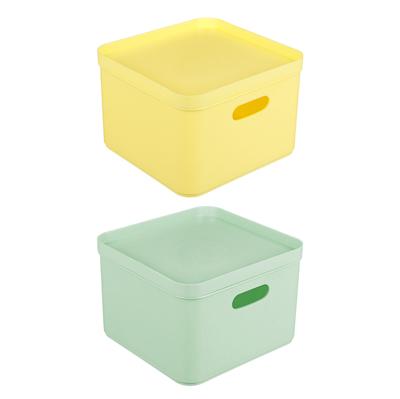 BEROSSI Органайзер с крышкой для хранения Pako Plaza, 200х200х138мм, 2 цвета - фото товара