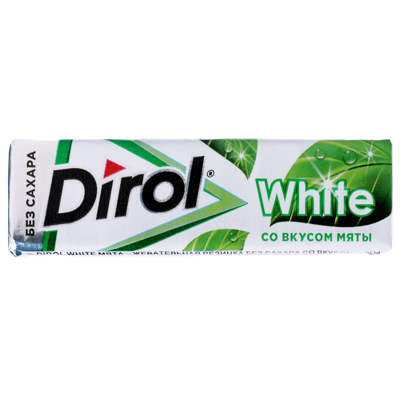 Жевательная резинка ДИРОЛ, 13,6г, в ассортименте - фото товара