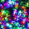 Гирлянда светодиодная Вьюн СНОУ БУМ 5м, 50 LED,мультицвет, 8 режимов, темный провод, 220В