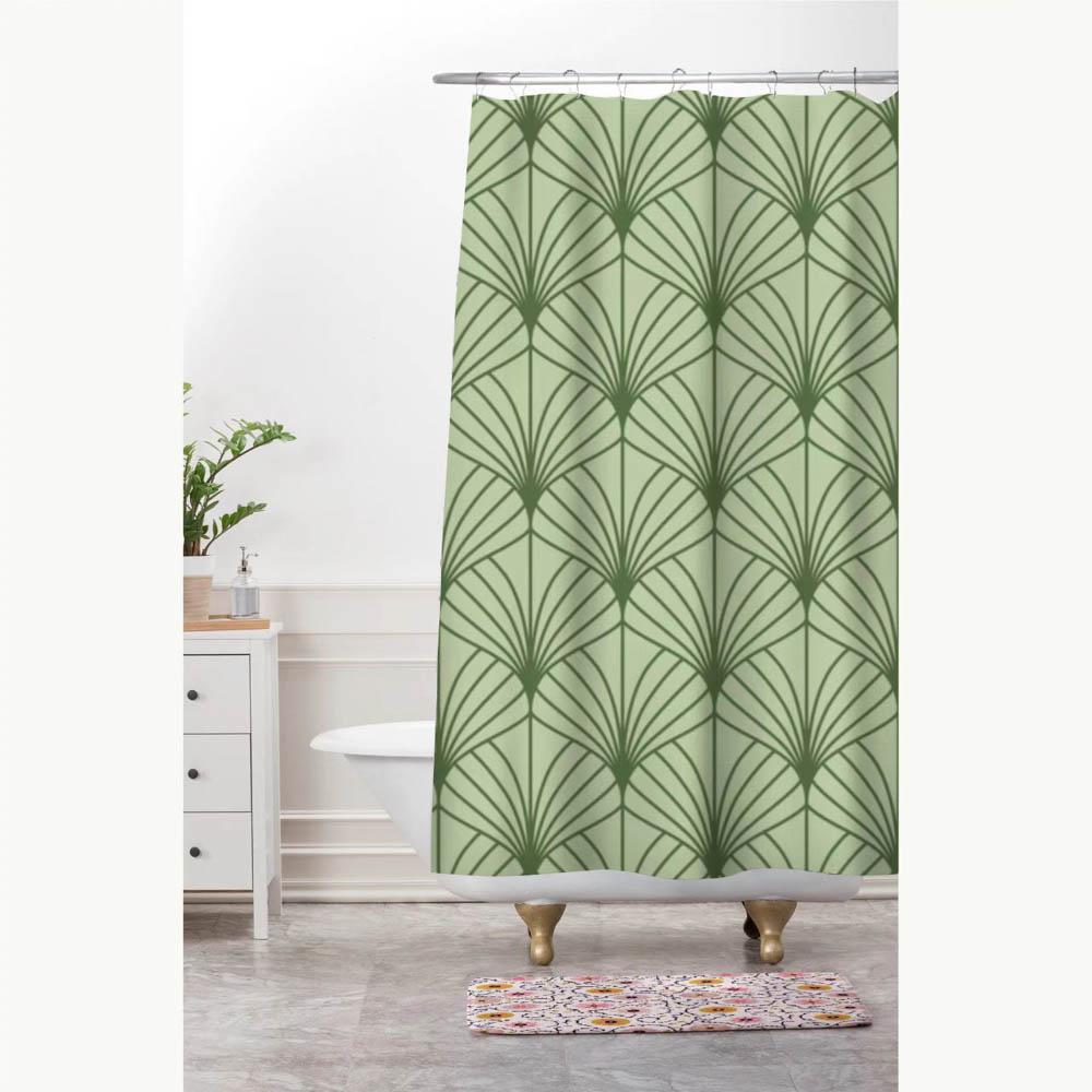 """VETTA Шторка для ванной, ПЕВА, 180x180см, """"Ветви"""", 3 цвета"""