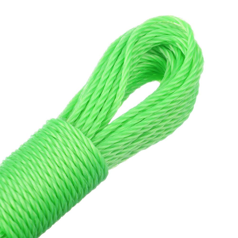 Веревка капроновая, 15м x 3мм