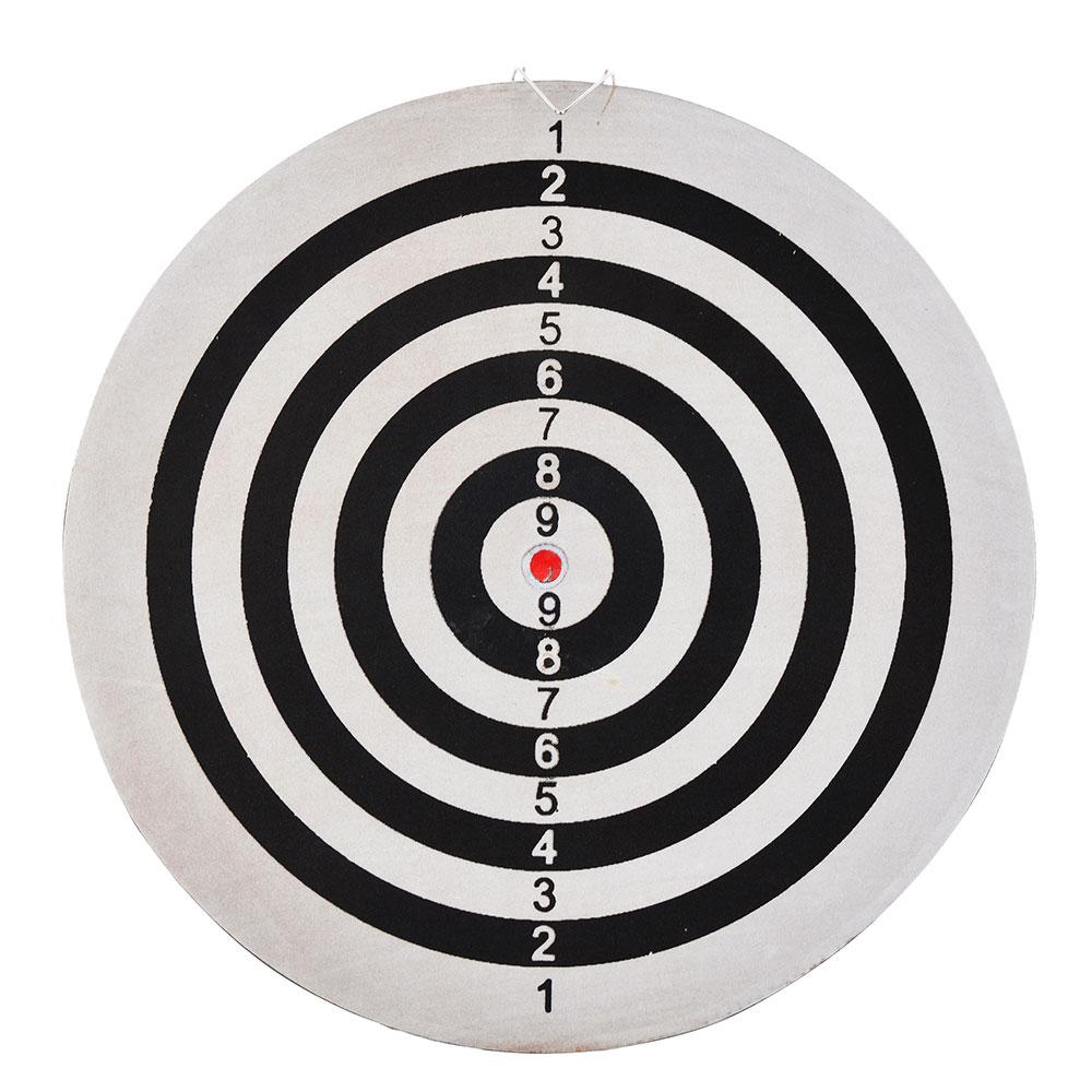 """Дартс 15"""" """"с паутинкой"""" с 6 стрелами 15""""х1/2"""", d38см, ЭВА, BL-15125"""
