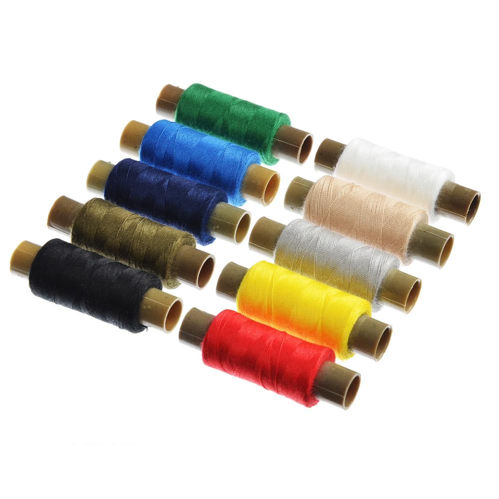 RUNIS Нитки полиэстер, намотка 200м, цветные 40, арт. 12021/6-026