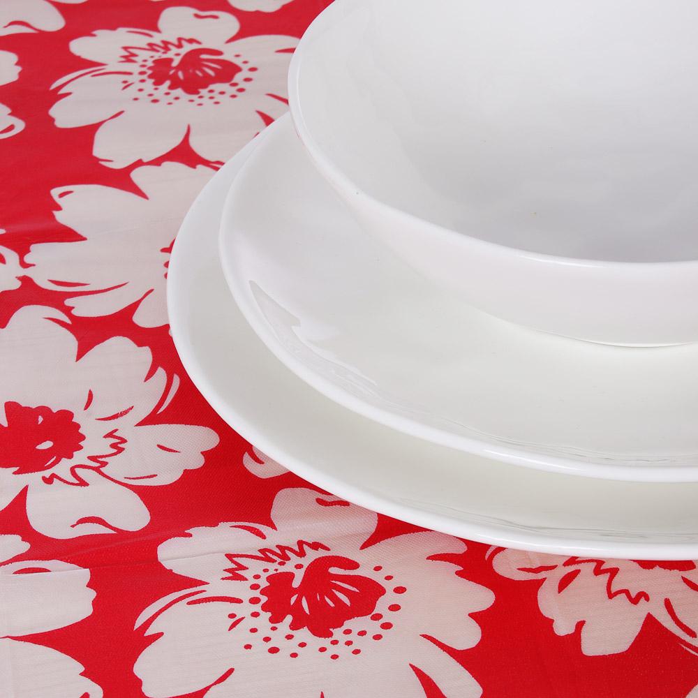Скатерть на стол, полиэстер, 122х152см, ПЕВА