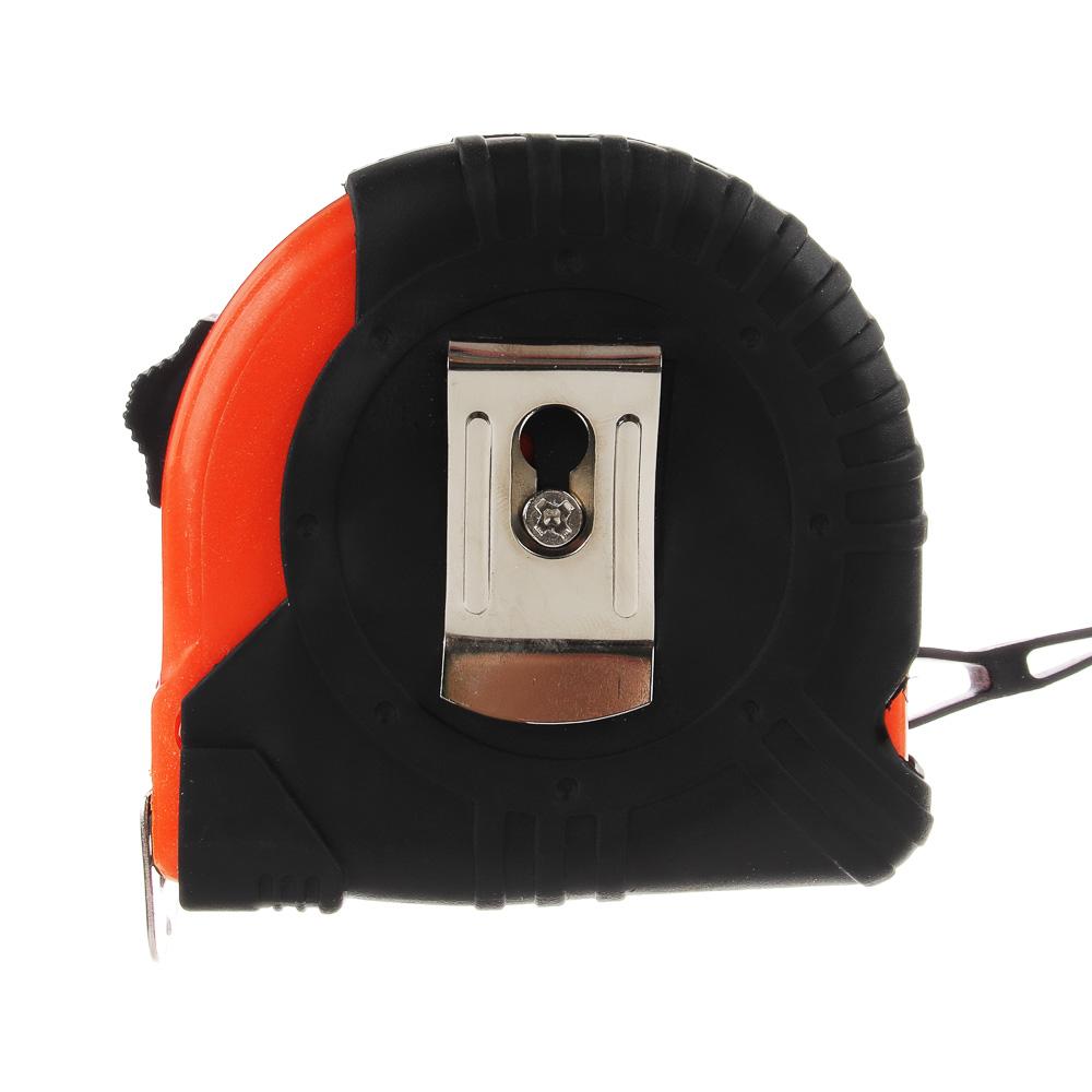 ЕРМАК Рулетка с обрезиненным корпусом, 5мх25мм