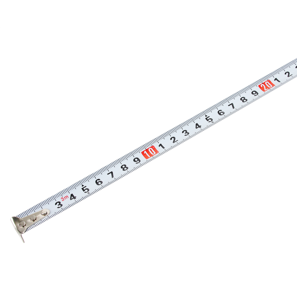 ЕРМАК Рулетка с обрезиненным корпусом, 3мх16мм