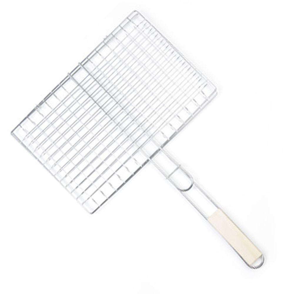 GRILLBOOM Решетка-гриль для мяса, 32х(23+21) см