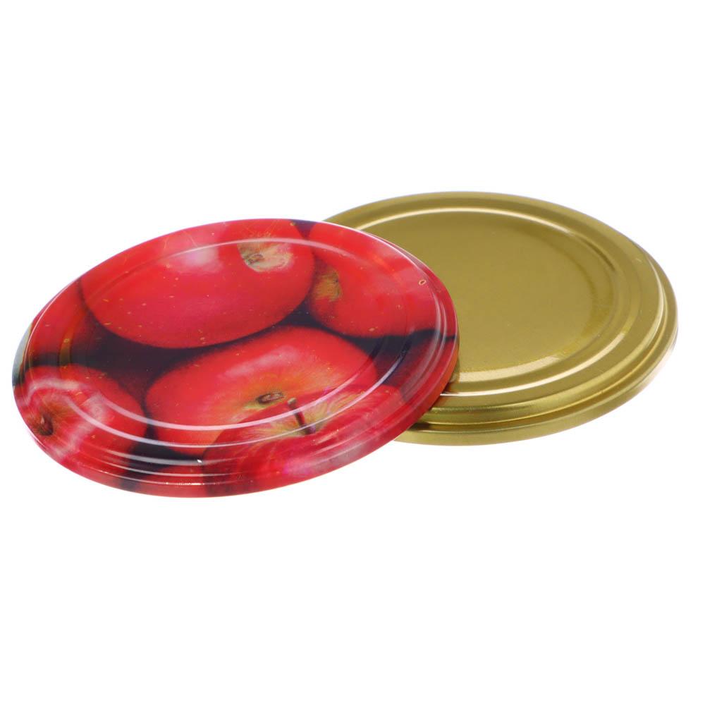 Крышка металлическая для консервирования СКО (УРАЛСКО) 50шт