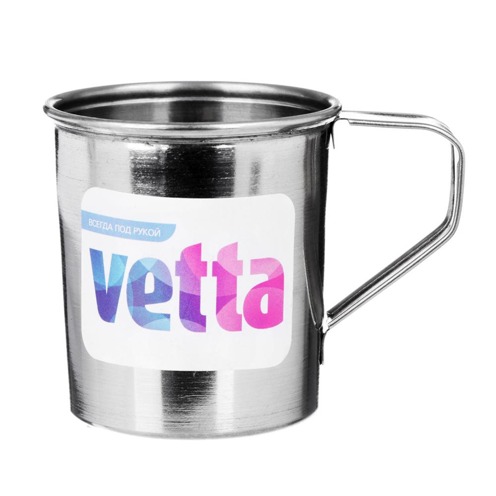 Кружка VETTA 175 мл, h7см, сталь