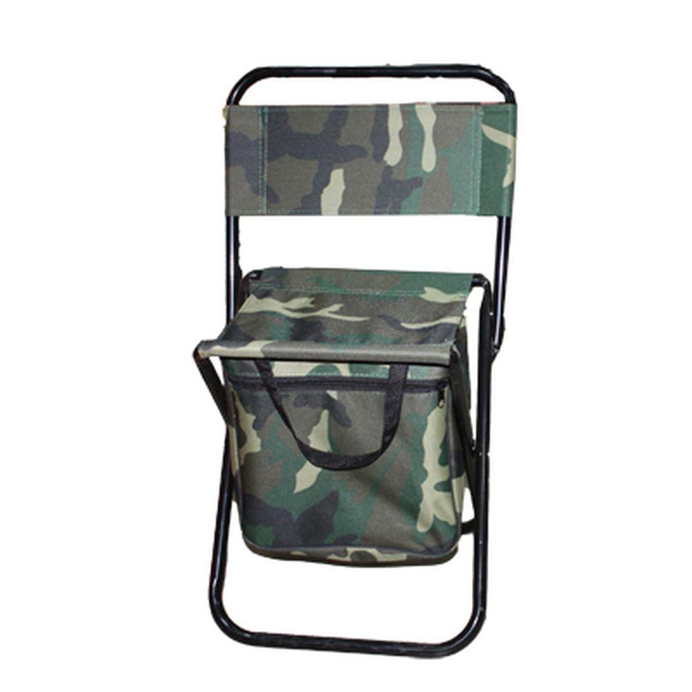 """Стул складной со спинкой """"патриот"""", с сумкой, камуфляж 60*34,5*28см, макс.нагрузка: 60 кг СМ-178"""