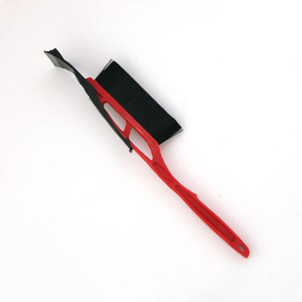NEW GALAXY Щетка сметка+скребок IP 103, красная, 53 см