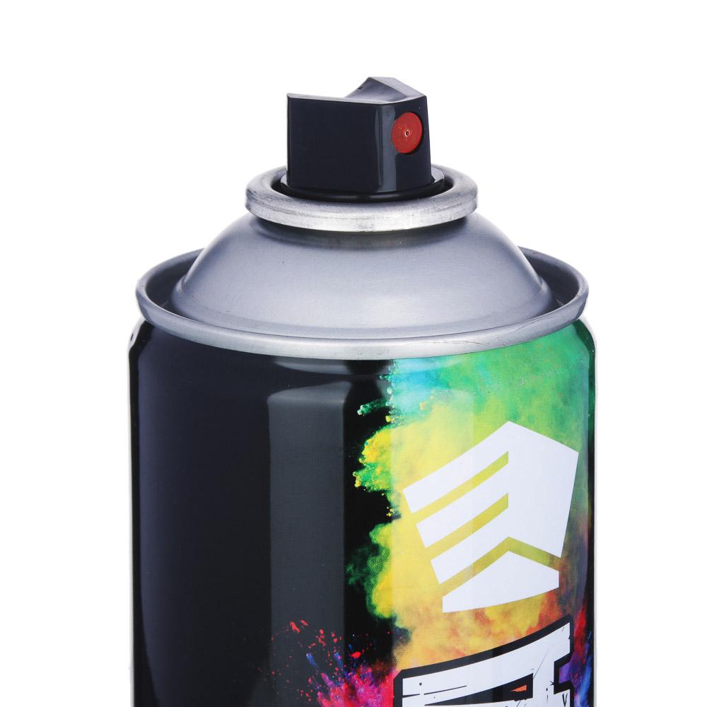 ЕРМАК Краска аэрозоль 400мл, металлик, серебристый (9002/100)