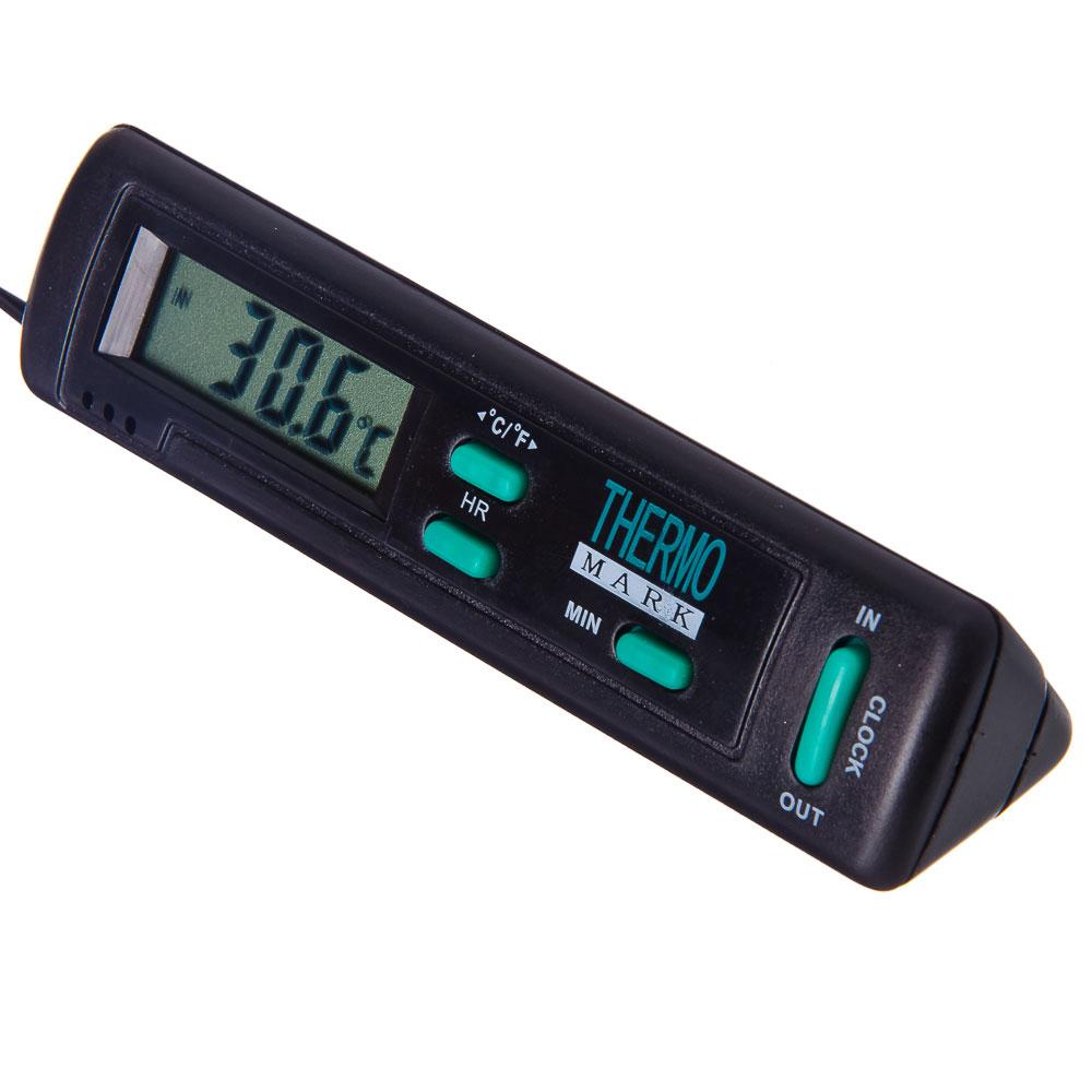NEW GALAXY Термометр наружный In Out с часами 16.01.005