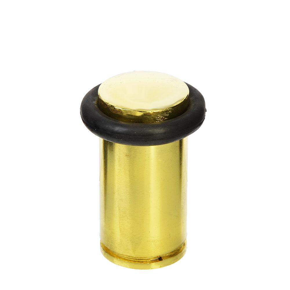 Упор дверной, металл, 45х36х15мм, золото