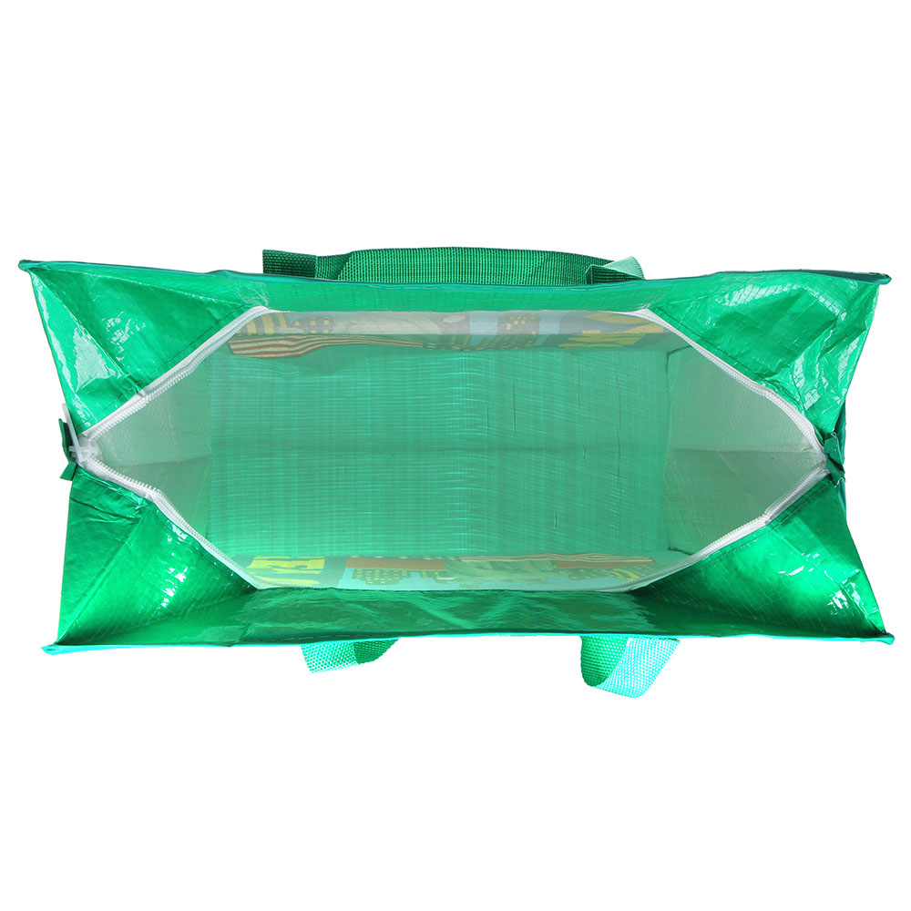 Сумка хозяйственная, 40х45х18см, полипропилен, 4 дизайна