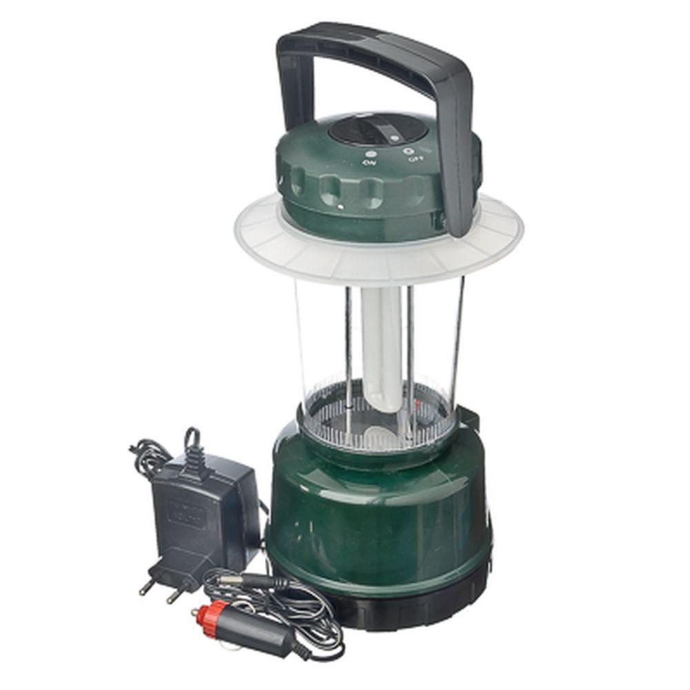 NEW GALAXY Фонарь аккумуляторный кемпинговый с люминесцентной лампой, 02.21.101