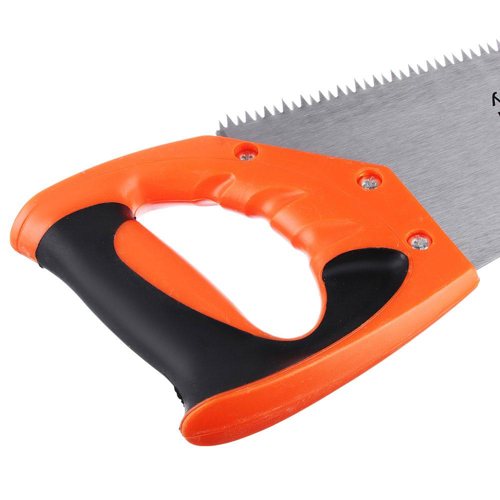 ЕРМАК Ножовка по дереву 1A, 350мм, зуб 8мм. заточ.