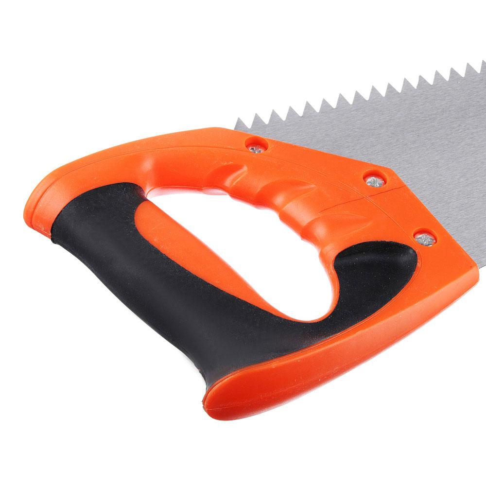 ЕРМАК Ножовка по дереву 3A, 450мм, зуб 8мм.