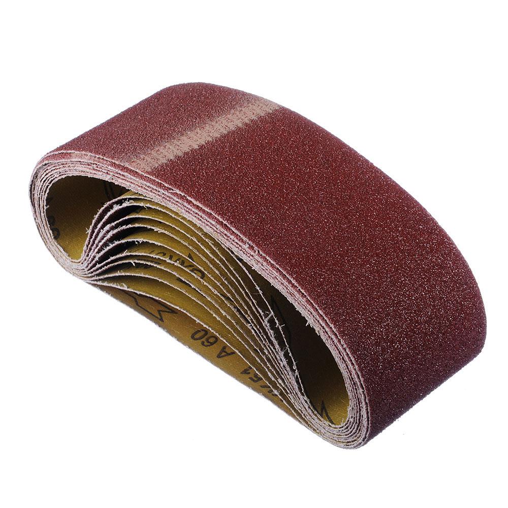 ЕРМАК Шлиф-лента бесконечная 75x533мм Р60, 10шт