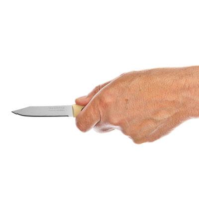 Кухонный нож с зубцами 8 см Tramontina Multicolor, 23528/213