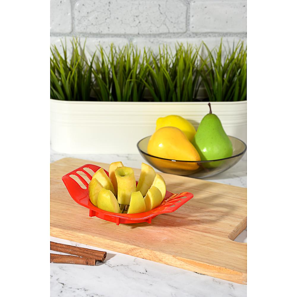 Яблокорезка пластик/металл, 17,5x10,3x3,5 см