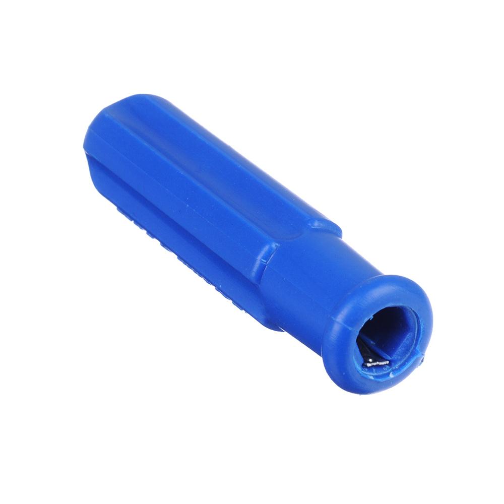 ЕРМАК Отвертка 2 в 1 синяя 3*50