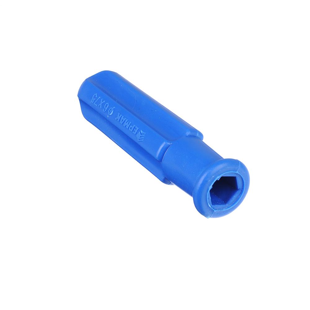 ЕРМАК Отвертка 2 в 1 синяя 6*75