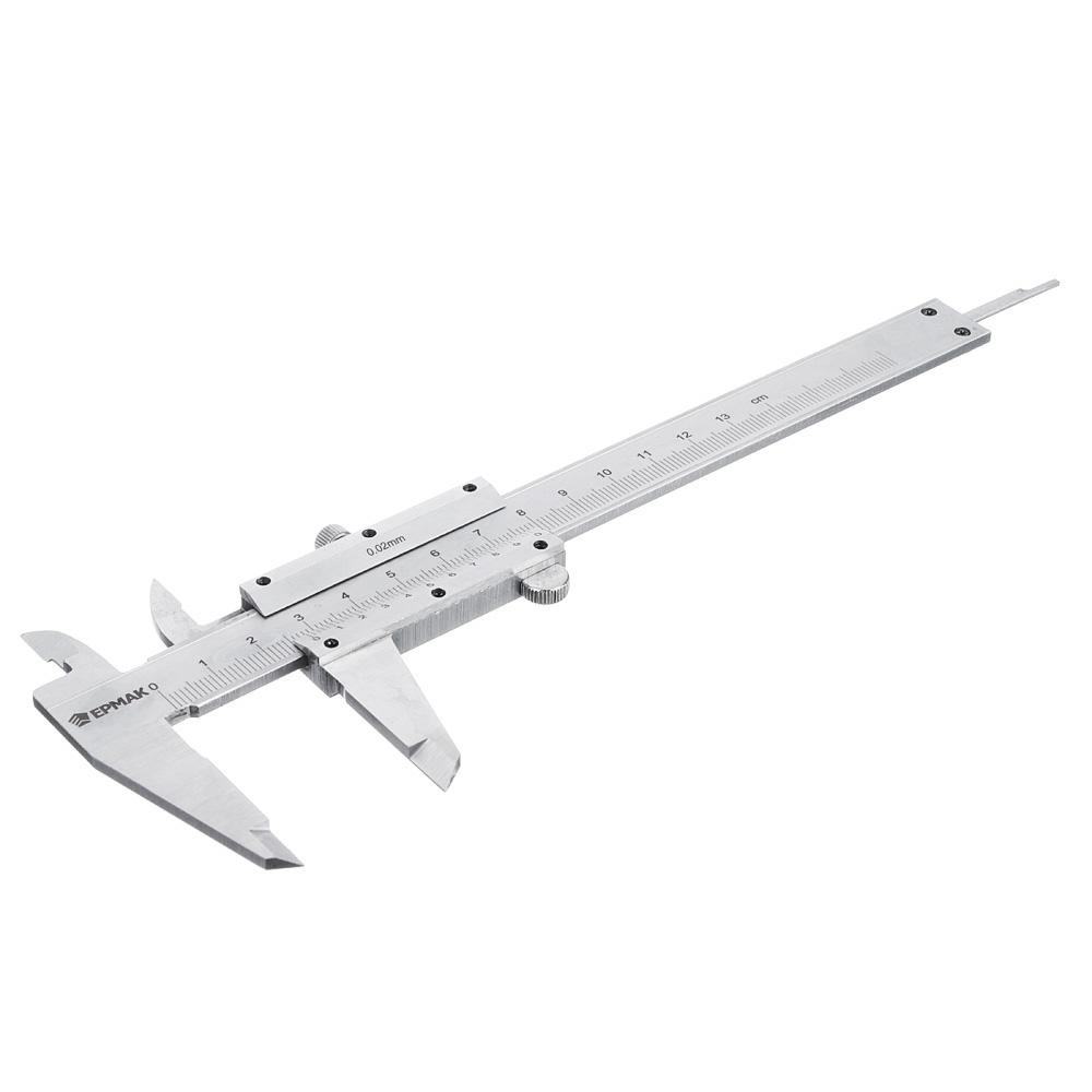 ЕРМАК Штангенциркуль 125мм, МТ001, ШЦ-I-125-0,1-1