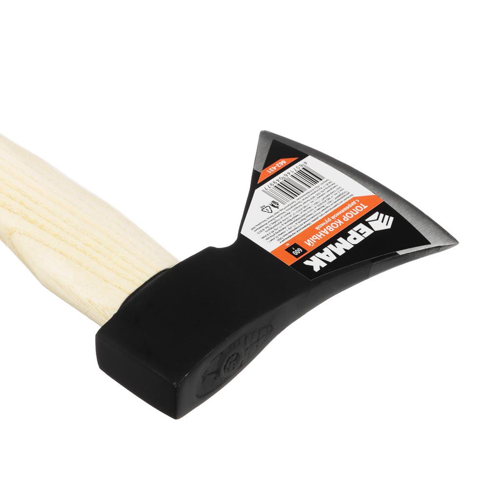 ЕРМАК Топор кованый с деревянной ручкой 600гр.