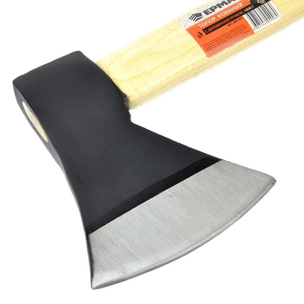 ЕРМАК Топор кованый с деревянной ручкой 1000гр.