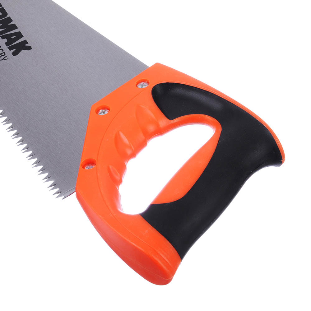 ЕРМАК Ножовка по дереву 1A, 450мм, зуб 8мм. заточ.