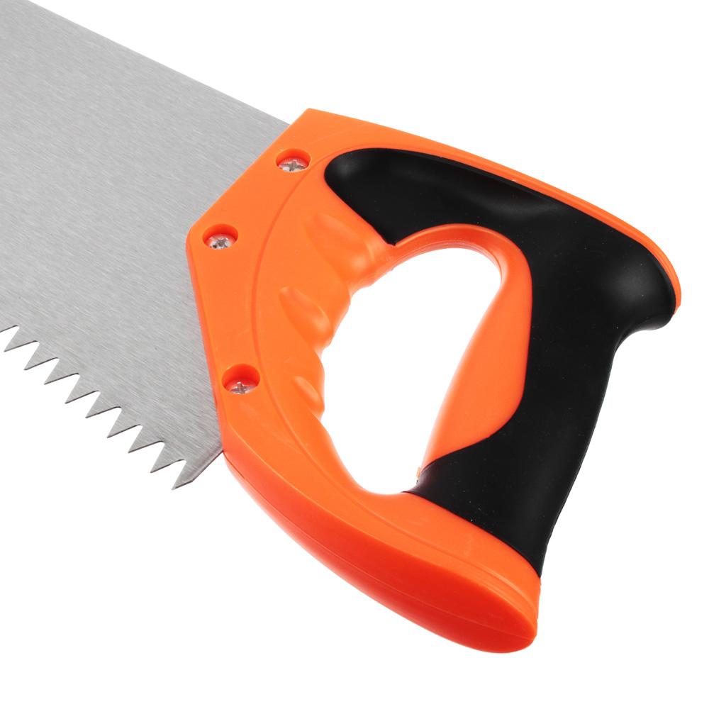 ЕРМАК Ножовка по дереву 3A, 500мм, зуб 8мм.
