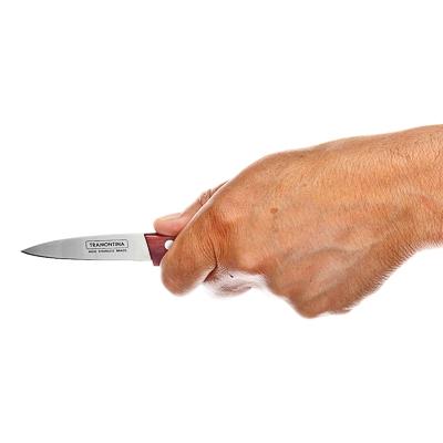 Овощной нож 8см, Tramontina Polywood, 21120/073