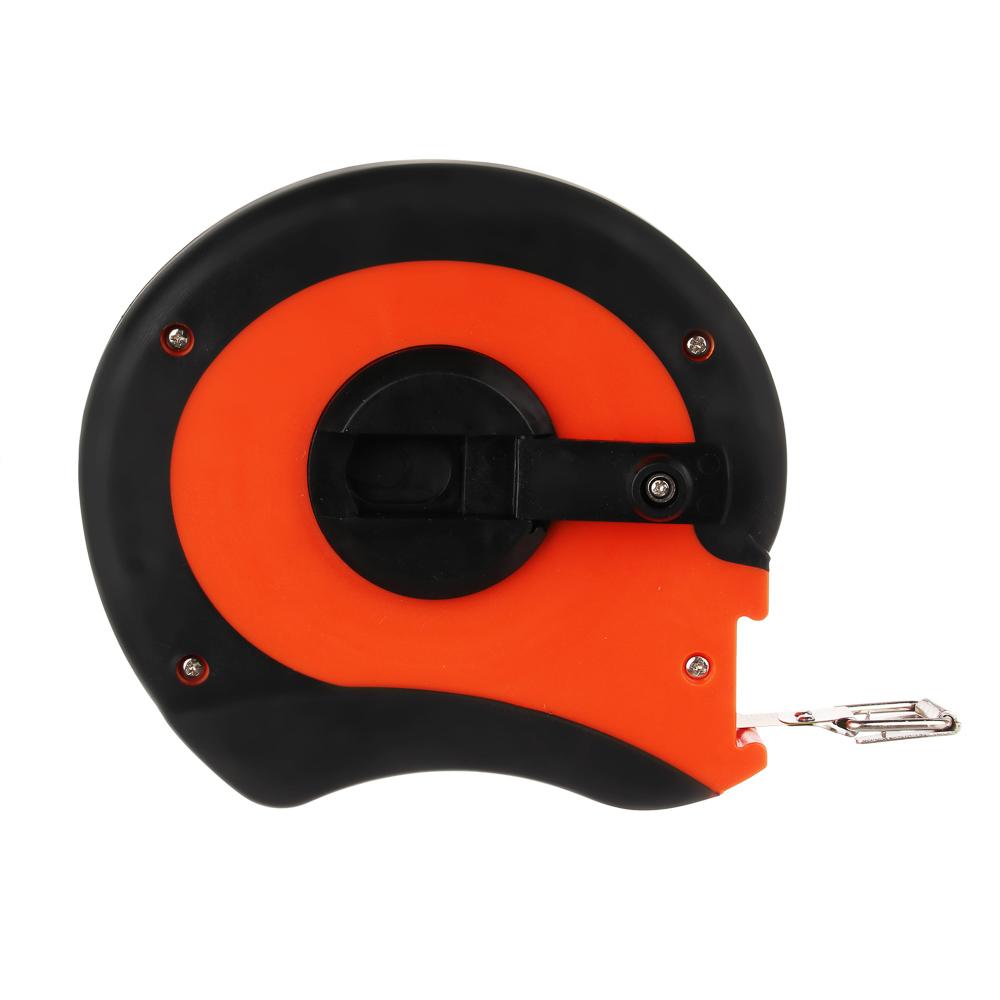 ЕРМАК Лента мерная металл 20м, двукомп. корпус