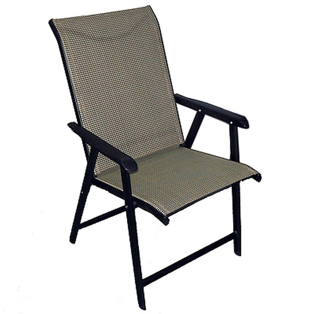 "Кресло складное ""коттедж"" 60х45х96см макс.нагрузка: 100 кг КТ-313"
