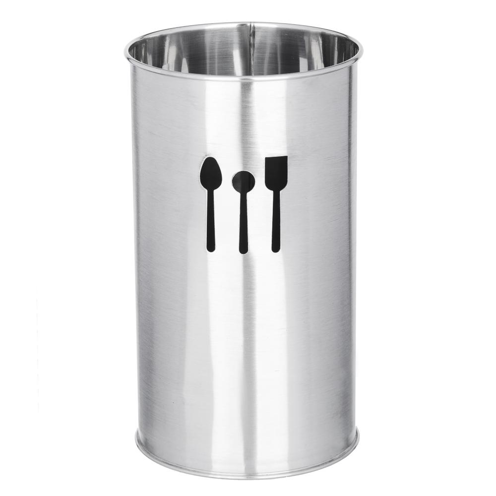 Подставка под кухонные принадлежности, 10х18,5см, сталь, VETTA