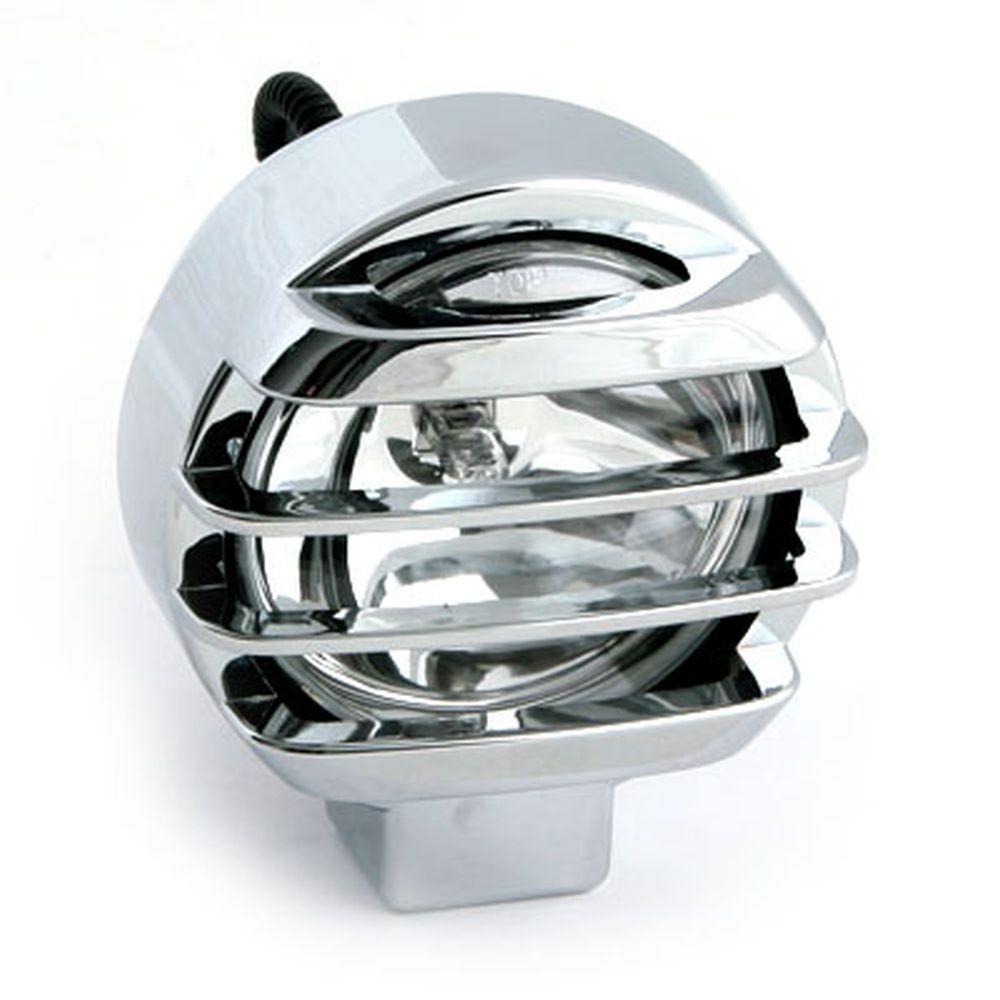 Фара противотуманная HT-2021 белая, d130мм, цена за 1 шт.